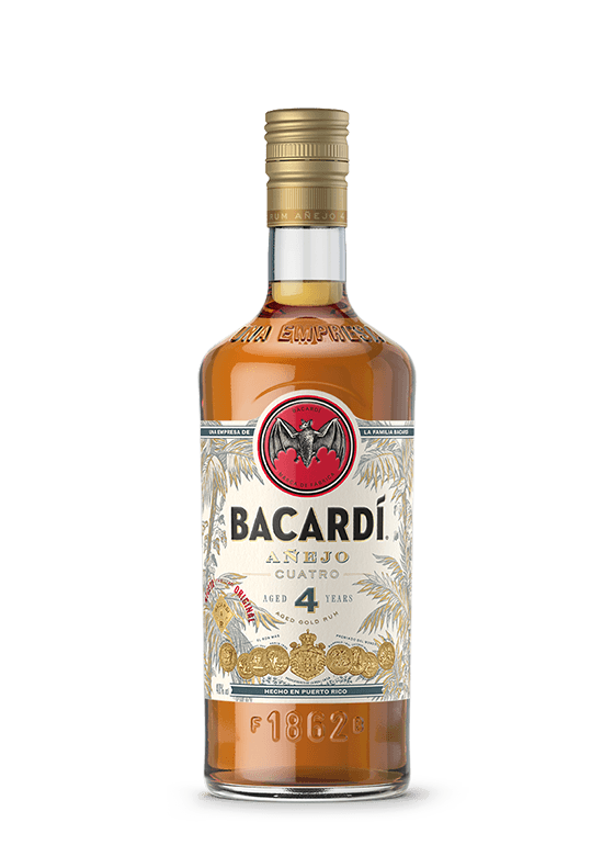 BACARDÍ AÑEJO CUATRO DRINK FOR SALE IN LAGOS CRUX DISTRIBUTION LIMITED